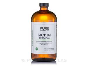 MCT Oil 100% Pure - 32 fl. oz (946 ml) by PureFormulas