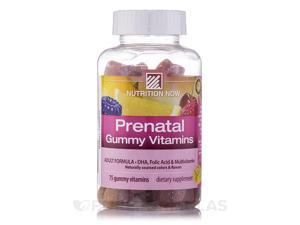 Prenatal Gummy Vitamins (Assorted Flavors) - 75 Gummies by Nutrition Now