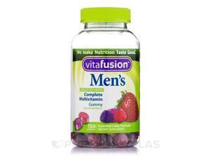 Men's Complete Multivitamin Gummy (Assorted Fruit Flavors) - 150 Gummies by Vita