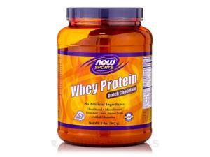NOW Sports - Whey Protein, Dutch Chocolate Flavor - 2 lbs (907 Grams) by NOW