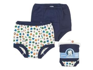 Gerber Training Pants 2 Pack - 18 Months (Blue)