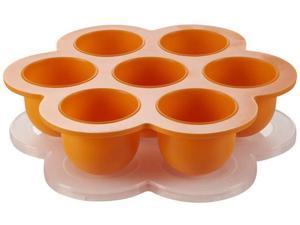Beaba Babycook Multiportions Baby Food Freezer Tray - Orange