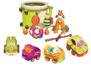 B. Parum Pum Pum Drum with B. Wheeee-Is Toy Cars