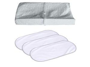 Colgate Mattress 3 Sided Contour Changing Pad with Changing Pad Liners