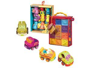 B. One Two Squeeze Blocks with Snug Bugs & Wheeee-Is Vehicles