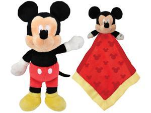 Kids Preferred Disney Mickey Mouse Plush & Snuggly Blanky
