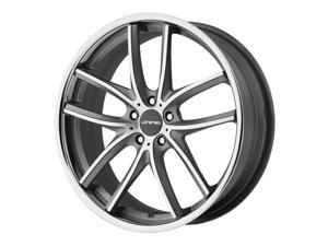 Lorenzo WL199 20x10 5x112 +40mm Black/Machined Wheel Rim