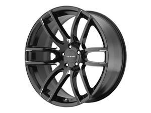 Lorenzo WL036 18x8 5x112 +38mm Black/Milled Wheel Rim