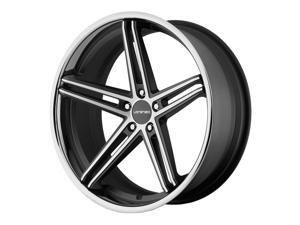 Lorenzo WL197 22x11 5x114.3 +38mm Black/Machined Wheel Rim