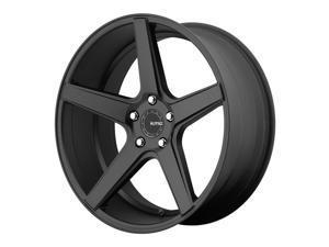 KMC KM685 District 20x8.5 5x120 +28mm Satin Black Wheel Rim
