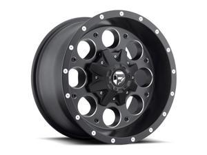 Fuel D525 Revolver 17x9 5x114.3/5x127 +1mm Black/Milled Wheel Rim