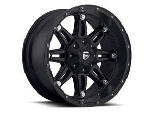 Fuel Offroad D531 Hostage 17x9 8x170 +1mm Matte Black Wheel Rim
