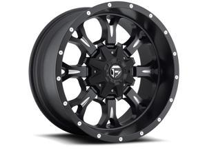 Fuel Offroad D517 Krank 20x10 6x135/6x139.7 -12mm Black/Milled Wheel Rim