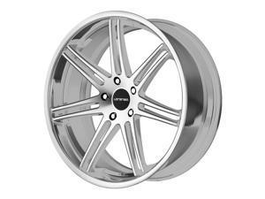 Lorenzo WL199 20x10 5x120 +40mm Titanium/Machined Wheel Rim