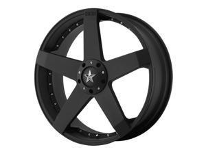 KMC KM775 Rockstar Car 17x7.5 4x100/4x114.3 +42mm Matte Black Wheel Rim
