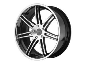 Lorenzo WL198 22x11 5x114.3 +38mm Black/Machined Wheel Rim