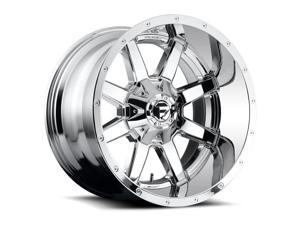 Fuel D566 Maverick 22x10 5x127/5x135 -24mm PVD Chrome Wheel Rim
