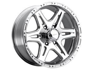 Ultra 208P Badlands 16x8 6x139.7 +10mm Polished Wheel Rim