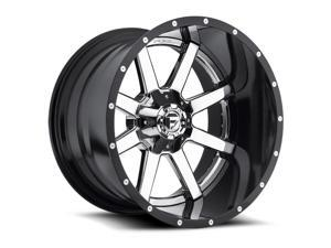 Fuel D260 Maverick (2-Piece) 24x14 6x135/6x139.7 -75mm Chrome/Black Wheel Rim