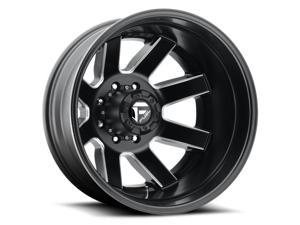 Fuel D538 Maverick Dually 20x8.25 8x165.1 -168mm Black/Milled Wheel Rim