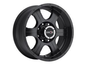 "Vision 396 Assassin 16x8 5x127/5x5"" +0mm Matte Black Wheel Rim"