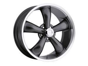 "Vision 142 Legend 5 17x7 5x114.3/5x4.5"" +6mm Gunmetal Wheel Rim"