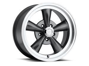 "Vision 141 Legend 5 15x7 5x4.75"" +6mm Gunmetal Wheel Rim"