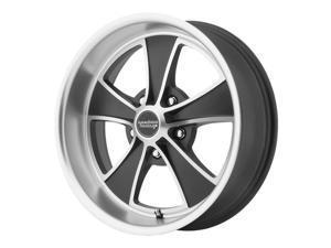 American Racing VN807 Mach 5 18x9 5x114.3 +38mm Black/Machined Wheel Rim