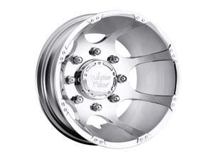"Vision 715 Crazy Eightz 16"" (16x6) 8x170 -137mm Chrome Wheel Rim"