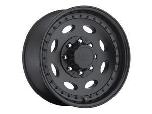 Vision 81 Heavy Hauler 19.5x7.5 8x180 +25mm Matte Black Wheel Rim