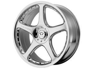Lorenzo WL28 20x9.5 5x114.3/5x120 +40mm Chrome Wheel Rim