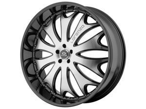 Lorenzo WL29 22x10 5x112 +38mm Black/Machined Wheel Rim