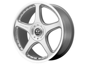 Lorenzo WL28 20x9.5 5x114.3/5x120 +40mm Silver Wheel Rim