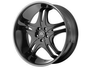 Lorenzo WL31 20x10 5x120 +18mm Gloss Black Wheel Rim