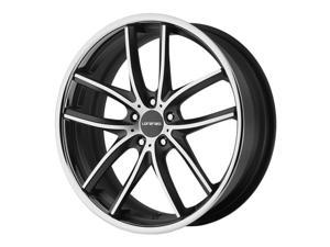 Lorenzo WL199 22x10.5 5x112 +40mm Black/Machined Wheel Rim