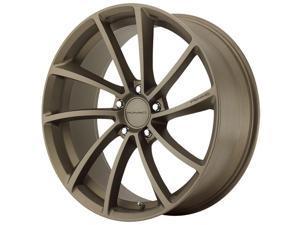 KMC KM691 Spin 19x8.5 5x120 +35mm Matte Bronze Wheel Rim