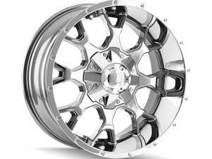 Mayhem 8015 Warrior 20x9 8x180 +18mm PVD Chrome Wheel Rim