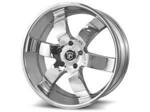 Pinnacle P86 Forte 26x9.5 6x135 +30mm Chrome Wheel Rim