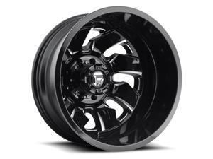 Fuel D574 Cleaver Dually 20x8.25 8x170 -227mm Black/Milled Wheel Rim
