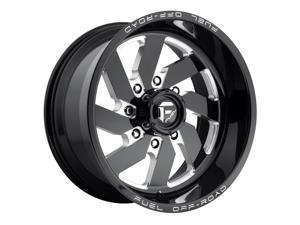 Fuel D582 Turbo 20x12 8x170 -43mm Black/Milled Wheel Rim