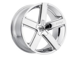 2Crave No.35 20x8.5 5x115 +20mm Chrome Wheel Rim