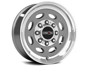 "Vision 81 Hauler 19.5x7.5 8x165.1/8x6.5"" +0mm Gunmetal Wheel Rim"
