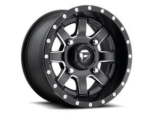 Fuel D538 Maverick 14x7 4x156 +13mm Black/Milled Wheel Rim