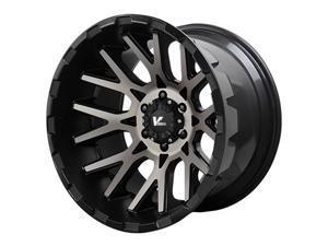 Verde VR10 Recoil 20x12 8x170 -44mm Black/Machined Wheel Rim