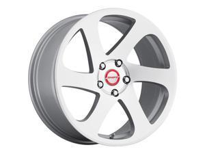Shift 6-Speed 18x8.5 5x120 +35mm Silver/Machined Wheel Rim