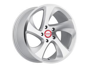 Shift Strut 17x8 5x108 +35mm Silver/Machined Wheel Rim