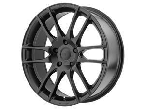 KMC KM696 Pivot 20x9.5 5x114.3 +38mm Satin Black Wheel Rim
