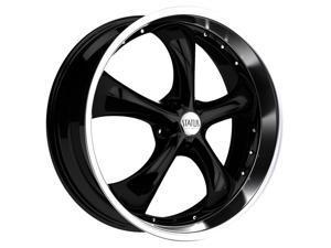 Status S818 Retro 22x8.5 5x114.3 +35mm Gloss Black Wheel Rim