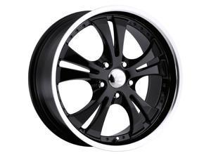 Vision 539 Shockwave 18x8 5x115 +42mm Black Wheel Rim
