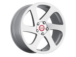 Shift 6-Speed 18x8.5 5x100 +35mm Silver Wheel Rim